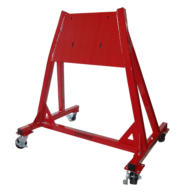 Service stands high capacity large outboard service stand for Large outboard motor stand