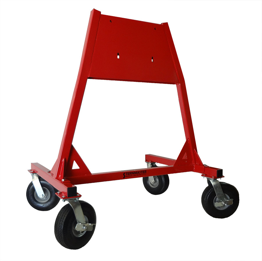 Service stands all terrain large outboard service stand for Large outboard motor stand