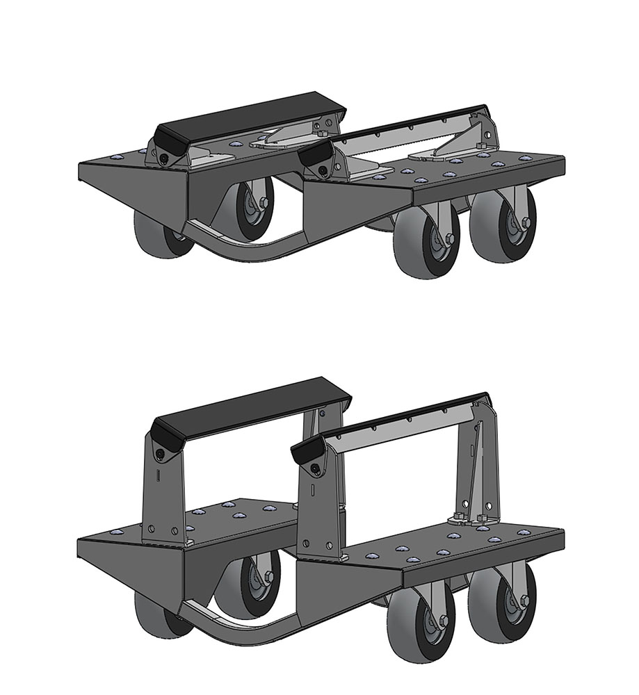 ME-350 Pontoon/Tritoon Dolly