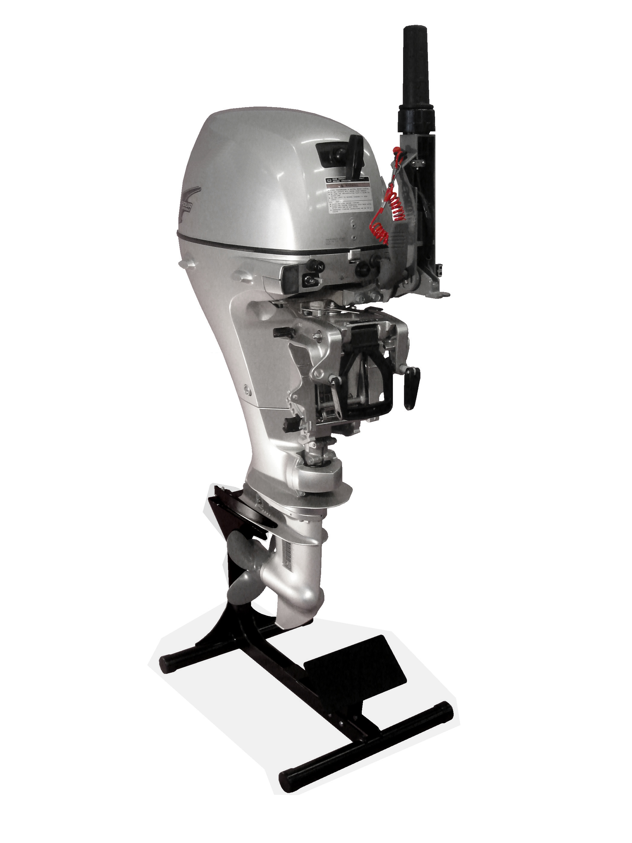 Me-100 - Outboard Display Stand with Sticker Plate
